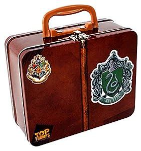 Winning Moves Juego de Tarjeta en Italiano Top Trumps serpeverde Collector Tin Harry Potter, Color Colores, 33466
