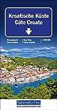 Kroatische Küste: Strassenkarte. Massstab 1:200000 (Kümmerly+Frey Strassenkarten)