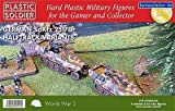Plastic Soldier 1/72 German SdKfz 251/D Halftrack Variants # WW2V20016 by Plastic Soldier Company