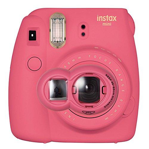 CAIUL Close Up Lens Selfie Portrait pour Appareils photo de Instax Mini 8 8+ 9 7s et Polaroid 300(Flamant Rose)