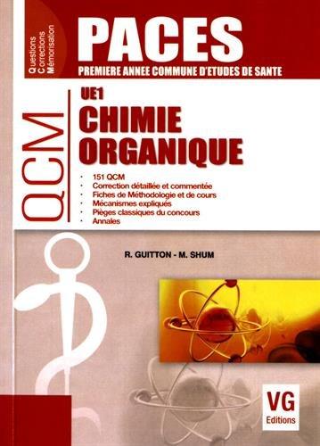 Chimie organique UE1