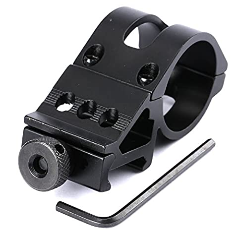 30mm Offset Fusil Laser de poche 20mm Picatinny Weaver bague de serrage à montage sur rail