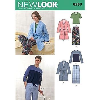 Simplicity 7956.A Schnittmuster Pyjama (Unisex, Gr. XS - XL): Amazon ...
