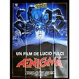 AENIGMA Affiche de film 120x160-1987 - Jared Martin, Lucio Fulci