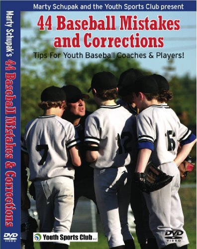 Baseball Coaching:44 Baseball Mistakes and Corrections by Little League Players (Little League Coaching)