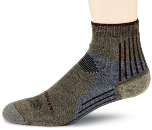 Fox River Sierra Leichtes Quarter Crew Socke, Herren, taupe (Fox River Quarter Sock)