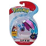 Giochi Preziosi Italy - Pokemon Clip 'N Go con Personaggio Eevee e Great Ball