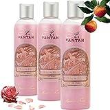 3er Set - Französisches Vintage Duschgel Rose - Un Air d'Antan Parfum : Rose, Pfirsich,...