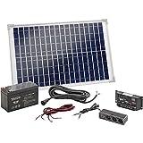 Esotec Solar-Set Poly 120005 20 Wp incl. batería recargable, incl....