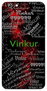 Vinkur (Plant Withouth Thorns) Name & Sign Printed All over customize & Personalized!! Protective back cover for your Smart Phone : Moto E-2 ( 2nd Gen )