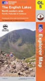 The English Lakes: North Eastern Area (OS Explorer Map Series): North Eastern Area (OS Explorer Map Series)