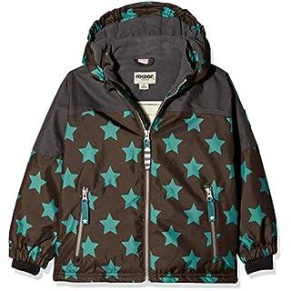 Racoon Boys' Aslak Star Winterjacke (Wassersäule 9.000) Jacket, Mehrfarbig (Chocolate Brown Cho), 10 Years