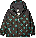 Racoon Jungen Jacke Aslak Star Winterjacke (Wassersäule 9.000), Mehrfarbig (Chocolate Brown Cho), 104