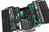Black Green Edition Werkzeugkiste* Werkzeugkasten gefüllt mit Werkzeug - 72tlg.
