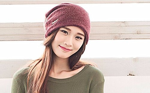 Winter Hat Knit Russian Cute Trapper Warm Cool Girl Women Beanie Red