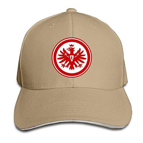 MSKOOK Eintracht Frankfurt Outdoor Sandwich Peaked Cap&Hat For Unisex