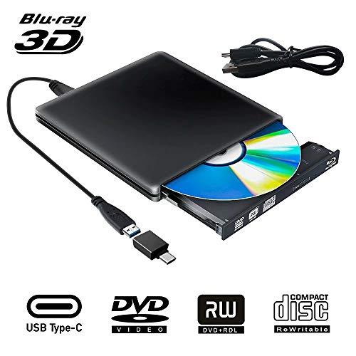Unidad Externa BLU Ray DVD 3D