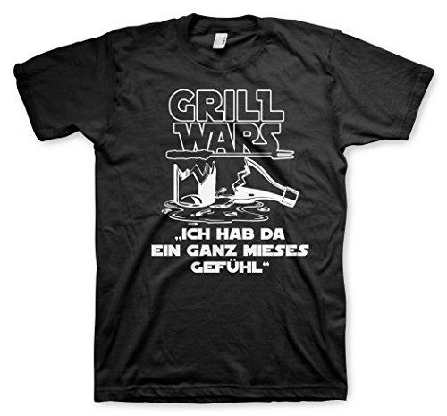 Grill Wars - Mieses Gefühl - Tshirt Größe 2XL
