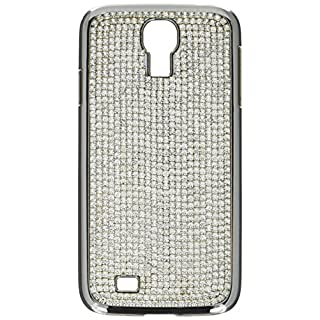 KALIFANO Samsung Galaxy S4 Case made with Clear Crystals