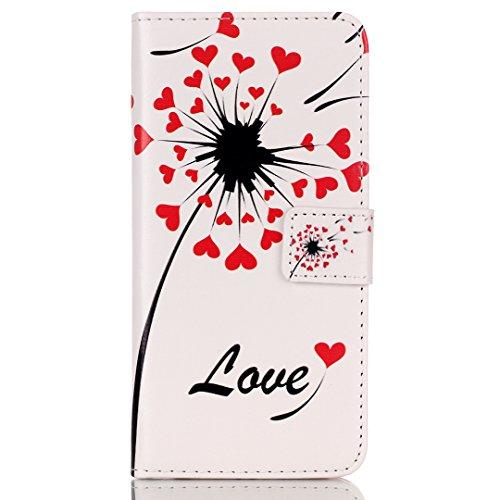 "iPhone 6 Plus/6S Plus (5.5"") Hülle im Bookstyle, Xf-fly® PU Leder Flip Wallet Case Cover Schutzhülle für Apple iPhone 6 Plus/6S Plus (5.5 Zoll) Tasche Handytasche Schutz Etui Schale Handyhülle P-1"