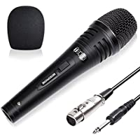 TONOR Professional XRL Singing Karaoke Vocal Dynamic Microphone with 9.8 Feet Cord