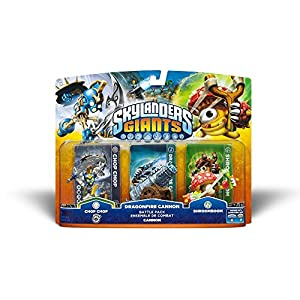 Skylanders: Giants – Battle Pack: Chop Chop, Shroomboom, Cannon Piece
