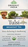 Tulsi, Holy Basil, Breakfast Tea, 18 Infusion Bags - Organic India - Qty 1
