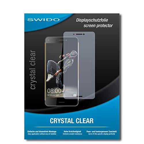 SWIDO Schutzfolie für Hisense C30 [2 Stück] Kristall-Klar, Hoher Härtegrad, Schutz vor Öl, Staub & Kratzer/Glasfolie, Bildschirmschutz, Bildschirmschutzfolie, Panzerglas-Folie