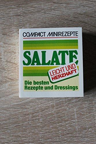 Compact Minirezepte Salate. Die besten Rezepte und Dressings