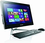 Lenovo C360 19.5-inch All-in-One Desktop PC - Black (Intel Pentium G3220T 2.6 GHz, 4 GB RAM, 1 TB HDD, DVDRW, Wi-Fi, BT, Integrated Graphics, Windows 8.1)