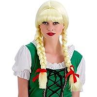 Wicked Costumes - Parrucca con trecce da