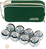 Boules 8 Set - Luxus 8 Boccia Boules Set im Zip Case - Rust-Z behandelt - Jaques von London