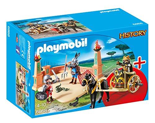 Playmobil StarterSet - History Arena de Gladiadores Playsets de Figuras de jugete, Color Multicolor (Playmobil 6868)
