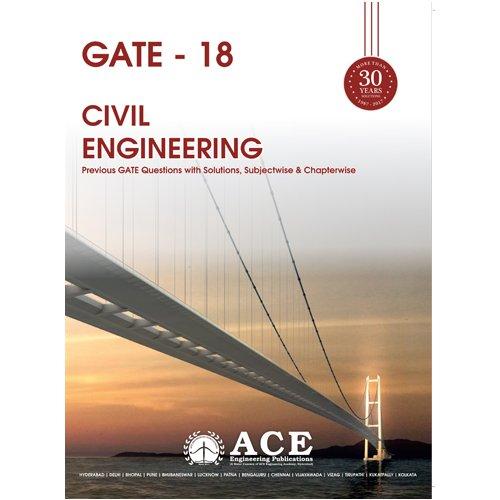 GATE 2018 CIVIL Engineering