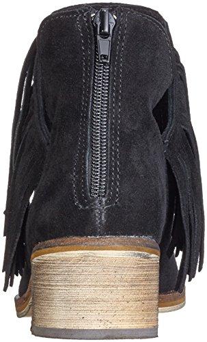 Vero Moda Vmlaure Leather Boot, Bottes courtes femme Noir - Noir