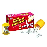 #10: Virgo Toys Super Sentence Cube Game Red-5 Years Plus, Perfect Game to Be Played with Friends and Family