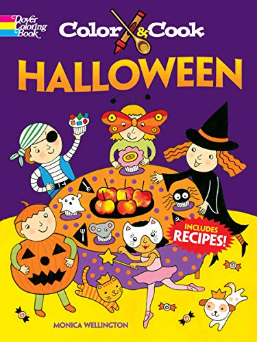 Color & Cook Halloween (Dover Coloring Books)