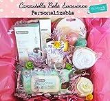 Canastilla para Bebés con Productos SUAVINEX, Body, Pañales y Baberos de marca | Disponible en 4 tamaños (S, M, L y para Gemel@s) | Para Niñas, Niños o Unisex