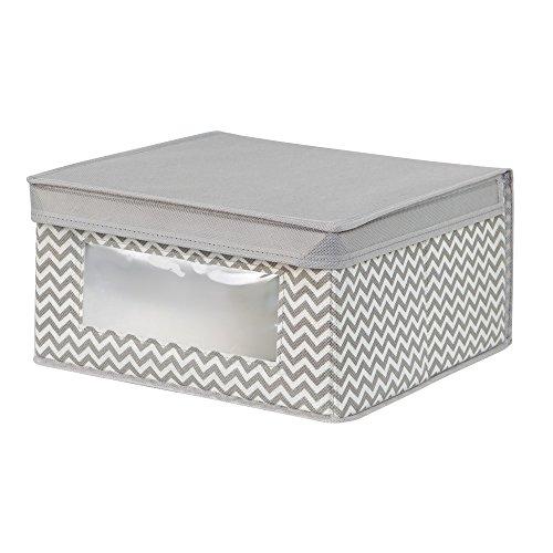 10 99 interdesign axis aufbewahrungsbox mit deckel fr kleidung oder schuhe mittelgroe. Black Bedroom Furniture Sets. Home Design Ideas