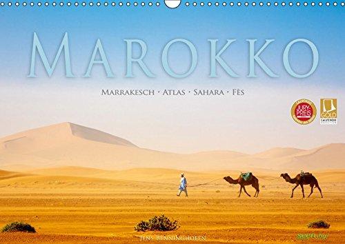 Marokko: Marrakesch, Atlas, Sahara, Fès (Wandkalender 2019 DIN A3 quer): Eine Orientreise durch Marokko (Monatskalender, 14 Seiten ) (CALVENDO Orte)