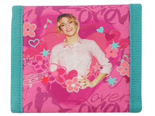 Preisvergleich Produktbild Disney Violetta Geldbörse Mädchen Geldbeutel Portemonnaie pink
