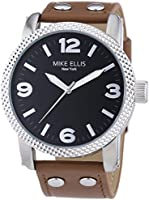 Mike Ellis New York Men's Quartz Watch a:ne SL4316/3 with Rubber Strap