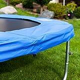 Gartentrampoline Trampoline Outdoor-Trampoline Fitness-Trampoline 370cm , inkl. Sicherheitsnetz,Schuhtasche, Bodenanker, Leiter und Abdeckplane - 7