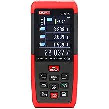 UNI-T Ut395a 50m/50m Handheld LCD numérique laser Distance Mètre Télémètre Mesurer la Distance Zone Volume Mesure M/en/FT Up-scaller