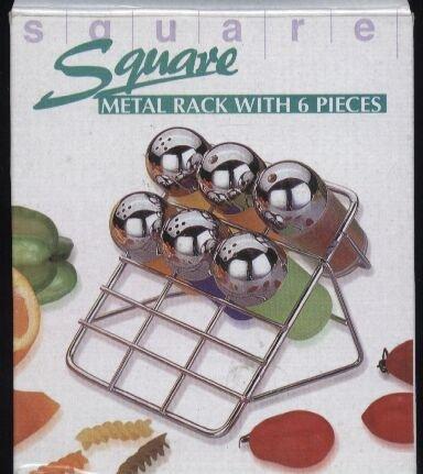 Square Gewürzständer für 6 Gewürze