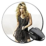 Shakira B Tapis De Souris Ronde Round Mousepad PC