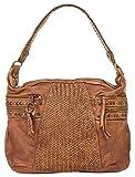 forty° Shopper Echt Leder camel Damen - 017826
