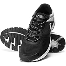 AZANI Hyper Glide Sports Running Gym Wear Black Grey Shoes