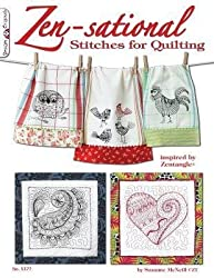[{ Zen-Sational Stitches for Quilting: Inspired by Zentangle (R) (Design Originals #5377) By McNeill, Suzanne ( Author ) Nov - 01- 2011 ( Paperback ) } ]