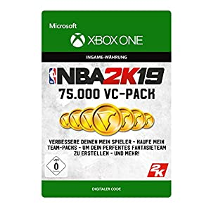 NBA 2K19: 75,000 VC | Xbox One – Download Code